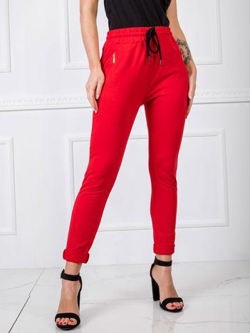 Czerwone spodnie Bunny