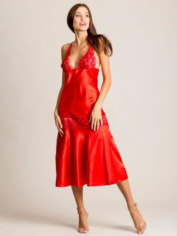 Czerwony komplet Arabella