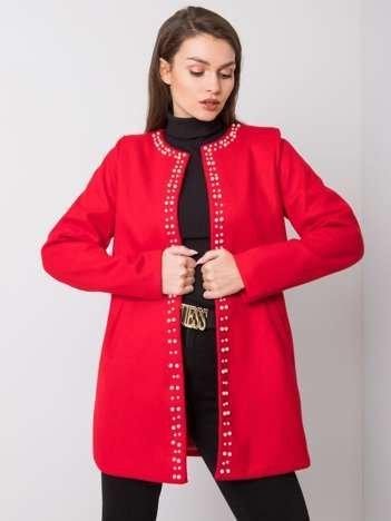 Czerwony płaszcz Ninon