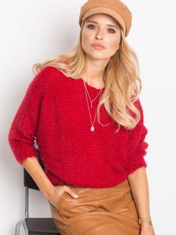 Czerwony sweter Delight