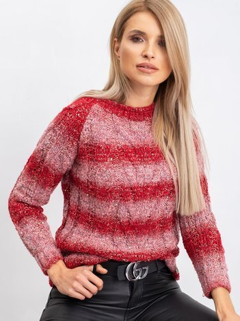 Czerwony sweter Harper