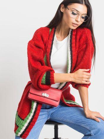 Czerwony sweter Lavish