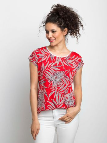 Czerwony t-shirt Finding