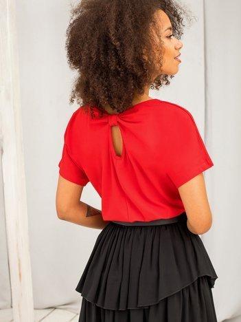 Czerwony t-shirt Flow