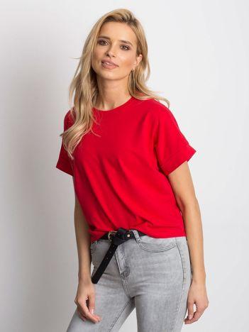 Czerwony t-shirt Woodland