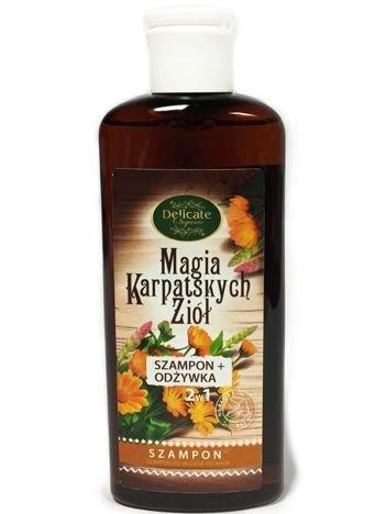 DELICATE ORGANIC Szampon z odżywką do włosów suchych 200 ml