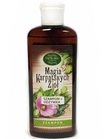 DELICATE ORGANIC Szampon z odżywką do wszystkich rodzajów włosów 200 ml