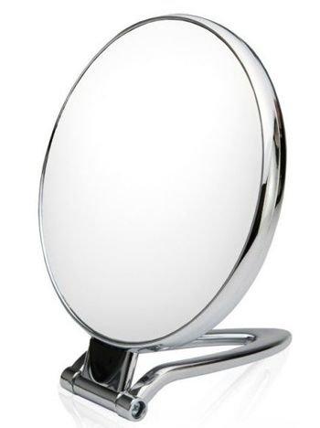 DONEGAL Dwustronne lusterko kosmetyczne Powiększenie x 10 FABLE LOOK stojące (4534)