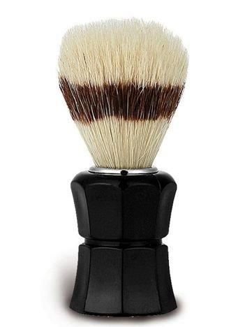 DONEGAL Pędzel do golenia Naturalne włosie dzika czarny (9462)