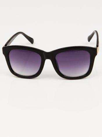 Damskie okulary słoneczne czarne