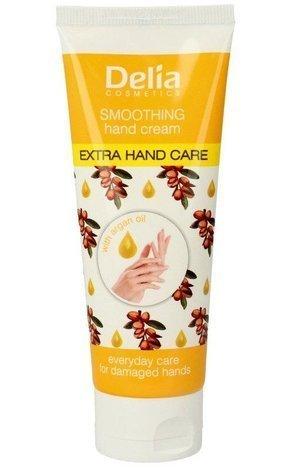 """Delia Cosmetics Extra Hand Care Krem do rąk argan oil wygładzający 75ml"""""""