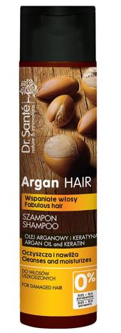 Dr.Sante Argan Hair Szampon oczyszczający do włosów uszkodzonych 250 ml