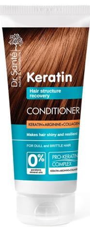 Dr.Sante Keratin Hair Odżywka odbudowująca do włosów łamliwych i matowych 200 ml
