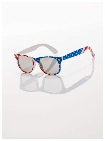 Dziecięce okulary z klasyczną oprawką WAYFARER NERD z filtrami odporne na wyginania
