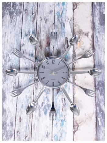 ELEGANCJA W KAŻDEJ KUCHNI - Wyjątkowy i nowoczesny zegar ścienny ZEGAREK KUCHENNY