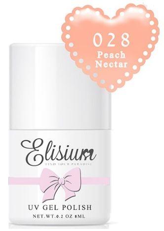 ELISIUM Lakier hybrydowy 028 Pech Nectar 8 ml