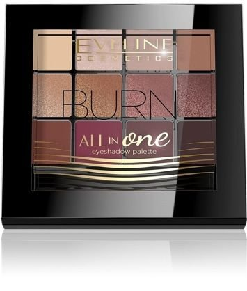 EVELINE Paleta cieni ALL IN ONE BURN 12 g