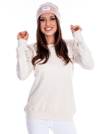 Ecru bluza damska basic