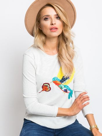Ecru bluzka Lisa