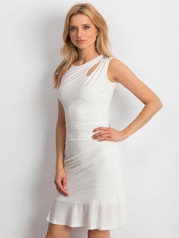Ecru sukienka Handle