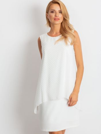Ecru sukienka Suve