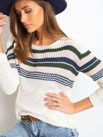 Ecru sweter Attitiude