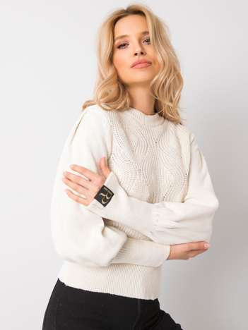 Ecru sweter Rosanna RUE PARIS