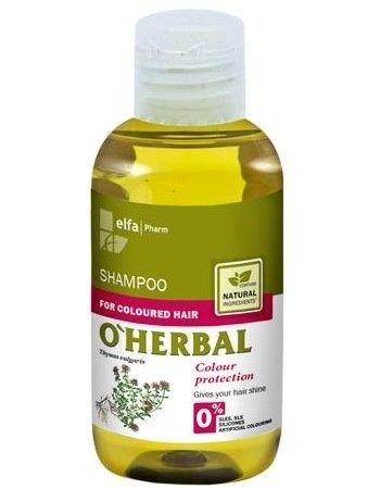 Elfa Pharm O'Herbal Szampon do włosów farbowanych z ekstraktem z macierzanki i tymianku 75 ml