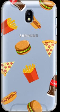 Etui do telefonu Samsung Galaxy J7 2017 Food