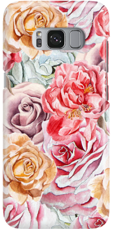 Etui do telefonu Samsung Galaxy S8 Roses