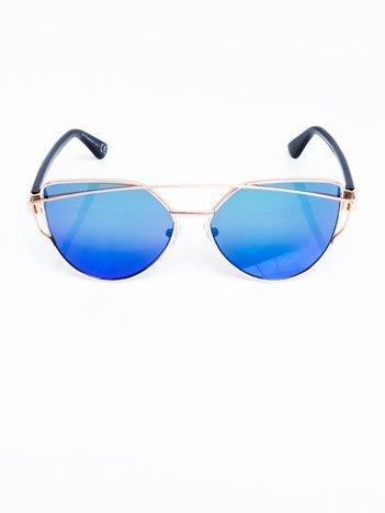 FASHION okulary przeciwsłoneczne lustrzane z filtrami UV