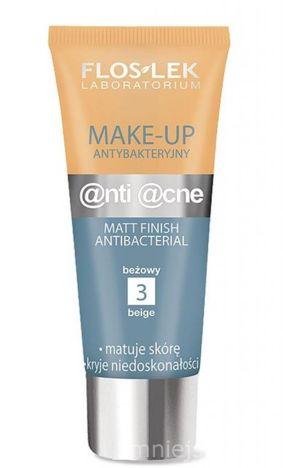 FLOSLEK Make up antybakteryjny - beżowy /3/ 30 ml
