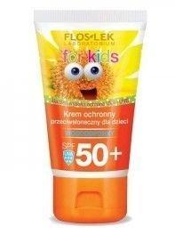 FLOSLEK Sun Care Krem ochronny przeciwsłoneczny dla dzieci SPF 50+ 50 ml