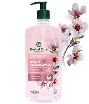 """Farmona Herbal Care Płyn micelarny do demakijażu Kwiat Migdałowca  400ml"""""""