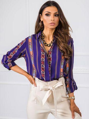 Fioletowa koszula Tilda RUE PARIS