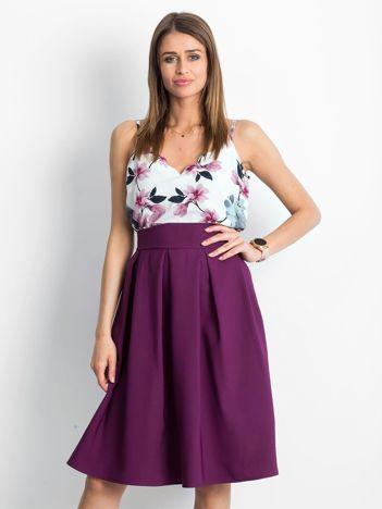 Fioletowa spódnica Bucolic