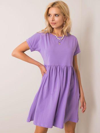 Fioletowa sukienka Dita RUE PARIS