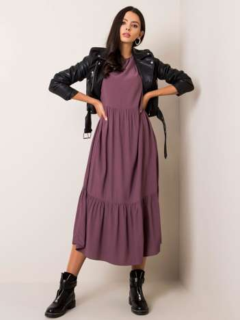 Fioletowa sukienka Jenny FRESH MADE