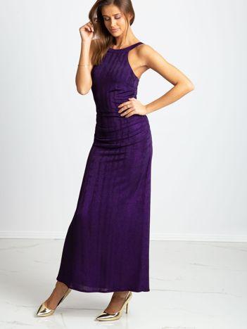 Fioletowa sukienka Night