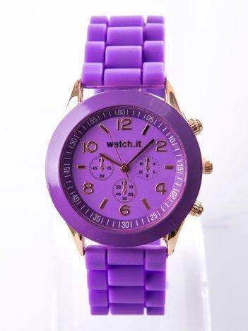 Fioletowy damski zegarek