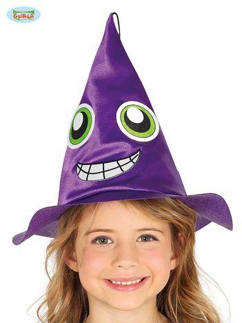 Fioletowy kapelusz czarownicy