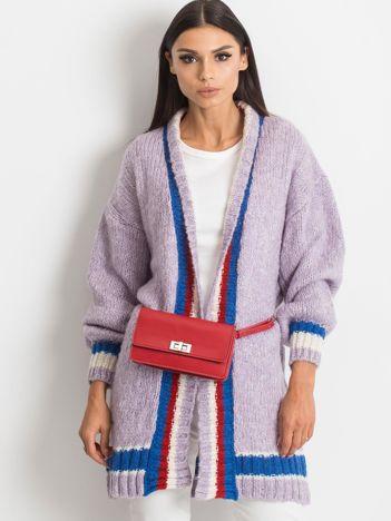 Fioletowy sweter Lavish