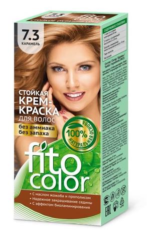 Fitocosmetics Fitocolor Naturalna Farba-krem do włosów nr 7.3 karmel