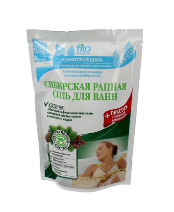 Fitocosmetics Sól do kąpieli syberyjska iglasta sosna 530 g