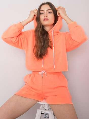 Fluo pomarańczowy komplet casualowy Emola