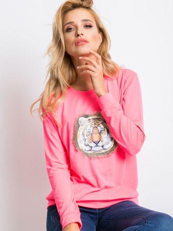 Fluo różowa bluza Palma