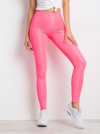 Fluo różowe legginsy Inherently