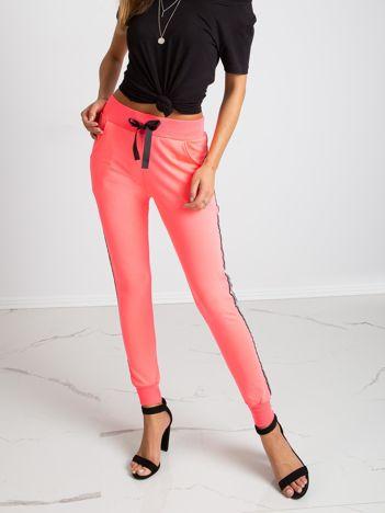 Fluo różowe spodnie Ring