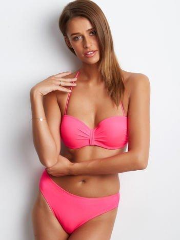 Fluo różowy kostium kąpielowy Election