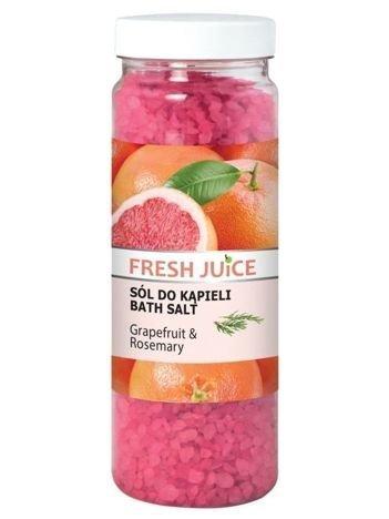 Fresh Juice Sól do kąpieli Grapefruit & Rosemary 700 g